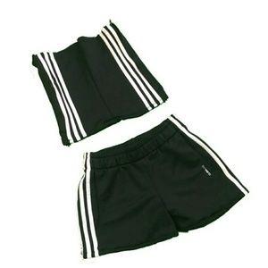Handmade Adidas Top and Shorts